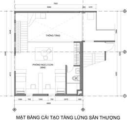 Cải tạo căn hộ Duplex:   by Archifix Design