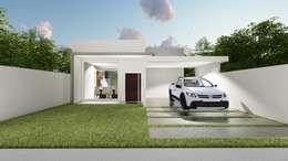 Rumah tinggal  by Rudini Rodarte Arquitetura e Construção