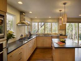 مطبخ تنفيذ Metcalfe Architecture & Design