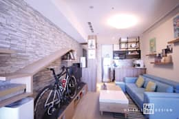 Ruang Keluarga by 協億室內設計有限公司