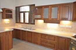 Modular kitchen installed by zenia: classic Kitchen by zenia
