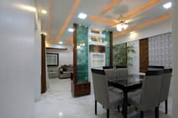 Residence -  Mr. Mane, Pune.: modern Dining room by Spaceefixs