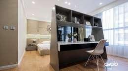 Căn hộ Park Hill ấm cúng và tiện dụng:  Phòng ngủ by Công ty cổ phần NỘI THẤT AVALO