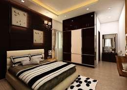 Bedroom: classic Bedroom by Regalias India Interiors & Infrastructure