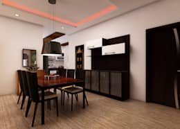 Nageshwar Rao: classic Dining room by Regalias India Interiors & Infrastructure