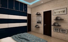 Bedroom : modern Bedroom by Regalias India Interiors & Infrastructure