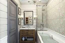 Ванная комната: Ванные комнаты в . Автор – Diveev_studio#ZI
