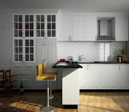 residence:  Kitchen units by The Design Code