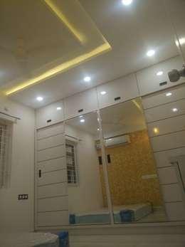 3BHK Aparna Cyberzone E Block 1440sqft Turn Key project: modern Bedroom by Enrich Interiors & Decors