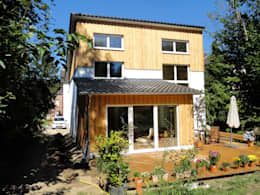 Passive house by Planquadrat-Architekten PartG mbB