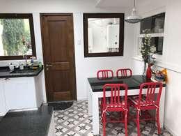 Comedor de diario : Muebles de cocinas de estilo  por PICHARA + RIOS arquitectos