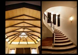 Stairs and False ceiling:  Stairs by Myriadhues