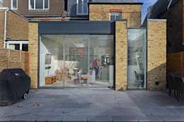 Ground floor rear extension:  Terrace house by PAD ARCHITECTS