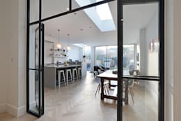 Edwardian meets contemporary; Teddington Family Home: modern Dining room by PAD ARCHITECTS