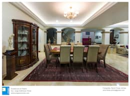 colonial Dining room by Excelencia en Diseño