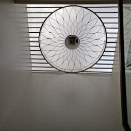 Skylight:  Stairs by Geometrixs Architects & Engineers