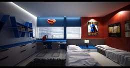 minimalistic Nursery/kid's room by Lighthouse Architect Indonesia
