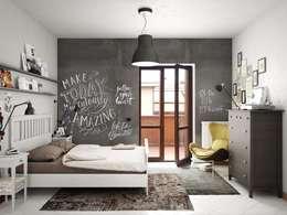 غرفة نوم تنفيذ Studio Gentile