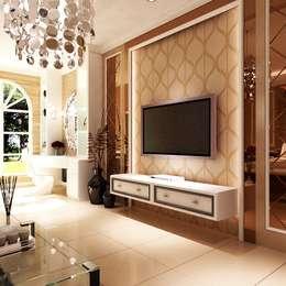 Master Room:  Kamar Tidur by Lighthouse Architect Indonesia