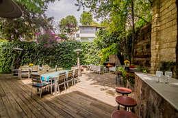 Jardins modernos por HDA: ARQUITECTURA BIOCLIMATICA
