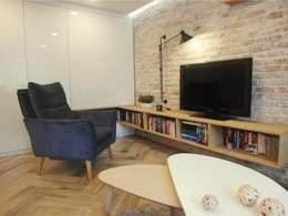 Salas de estar ecléticas por NaNovo