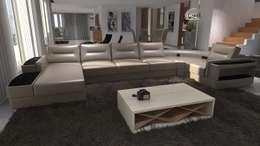 Projectos 3d de interiores de vivenda em pa os de ferreira for Mobiliario moderno