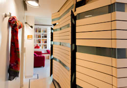 HOUSE #ABC: Ingresso & Corridoio in stile  di VITAE DESIGN STUDIO