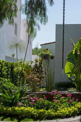 Jardín Andrea: Jardines de estilo rústico por Mexikan Curious