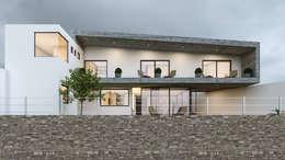 Casa María: Casas de estilo minimalista por Mexikan Curious