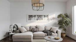 Diseño de Interior: Salas / Living.: Salas de estilo escandinavo por Mexikan Curious