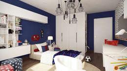غرفة نوم أولاد تنفيذ Art-i-Chok