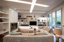 غرفة المعيشة تنفيذ studioQ