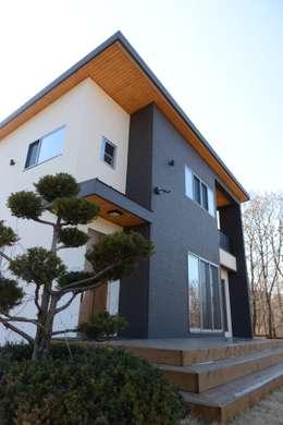 landhausstil Häuser von 우드선 목조건축