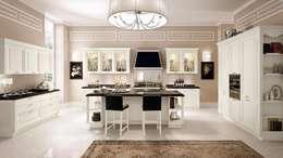 Cozinha Modelo Pantheon - Luxo e design exclusivo Cozinhas LUBE Itália: Cozinha  por area design interiores