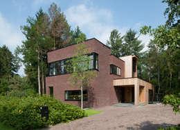 Modernes backsteinhaus im kubischen stil for Modernes backsteinhaus