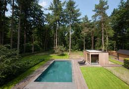 Projekty,  Willa zaprojektowane przez Architectenbureau Atelier3