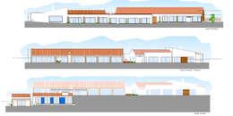 Projeto de arquitetura - Reconversao de edificio abandonado em turismo:   por Teresa Ledo, arquiteta