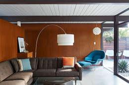 Гостиная в . Автор – Klopf Architecture