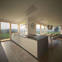 Projekty,  Kuchnia zaprojektowane przez AL ARCHITEKT