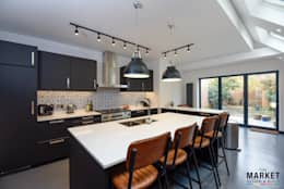 TWICKENHAM EXTENSION, LOFT AND REFURBISHMENT: modern Kitchen by The Market Design & Build