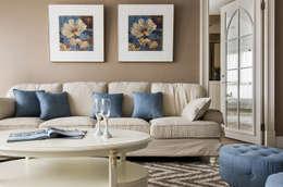غرفة المعيشة تنفيذ 辰林設計