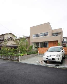 川西GREEN HOUSE: ラブデザインホームズ/LOVE DESIGN HOMESが手掛けた一戸建て住宅です。