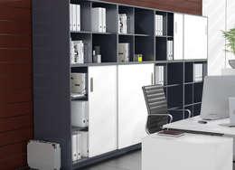 modern Study/office by Kuche Storage