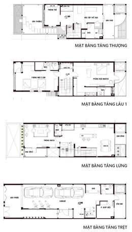 房子 by Công ty TNHH Xây Dựng TM DV Song Phát