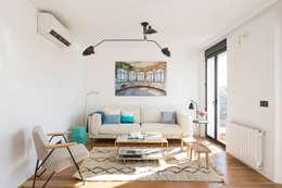 scandinavian Living room by CABALLERO Fotografía de Arquitectura, Inmobiliaria e Interiorismo