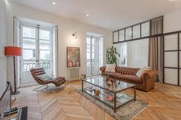 Soggiorno in stile in stile Moderno di CABALLERO Fotografía de Arquitectura, Inmobiliaria e Interiorismo