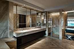 《光合‧盛燦》:  浴室 by 辰林設計