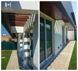 Casas de estilo moderno por Estudio A+I