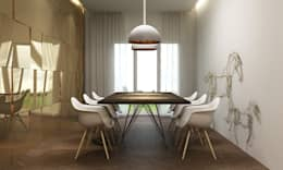 dining room : minimalistic Dining room by  Ashleys