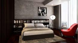 master bedroom : minimalistic Bedroom by  Ashleys